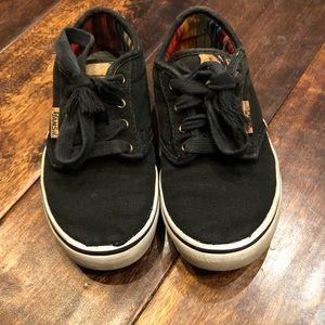 Kids Vans Navy Blue Shoes Size 13